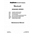 Beechcraft Bonanza Series V35B, F33A, F33C, A36, A36TC, B36TC & G36 Maintenance Manual Rev.2005 33-590010-7F3
