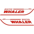 "Boston Whaler Boat Decal/Sticker Vinyl Graphics 14"" wide by 3.5"" high!"