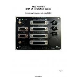 MGL Avionics iBOX V1 Installation Manual 2012