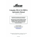 Lancair Columbia 350 (LC42-550FG) Information Manual $19.95