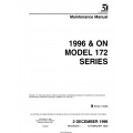 Cessna Model 172 Series 1996 & On Maintenance Manual 172RMM07 $29.95