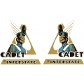 Interstate Cadet Aircraft Logo,Decals!