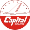 Capital Airlines Aircraft Decal/Logo 10''diameter!