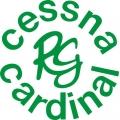Cessna Cardinal RG Aircraft Decal,Logo  7 1/4''h x 7 1/4''w!