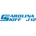Carolina Skiff J12 Boat Decal/Sticker 13.5''wide x 3''high!