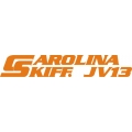 Carolina Skiff JV13 Boat Decal/Sticker 13.5''wide x 3''high!