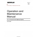 Caterpillar C11,C13 and CI5 On-highway Engines S/N KCA 00622 Operation and Maintenance Manual SEBU7695-15 $13.95