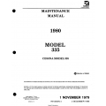 Cessna Model 335 Maintenance Manual 1980 D2522-4-13