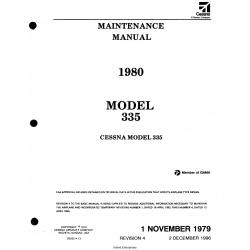 Cessna Model 335 Maintenance Manual 1980 D2522-4-13