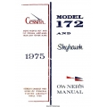 Cessna Model 172 and Skyhawk Owner's Manual $13.95