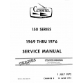 Cessna 150 Series Service Manual 1969 thru 1976 $19.95