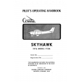 Cessna 172M Skyhawk 1976 Pilot's Operating Handbook $19.95