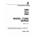 Cessna 172RG Series Parts Catalog  1980-1985 $13.95