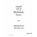 Cessna 172 Skyhawk Series 1977 Service Manual $13.95