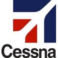 Cessna Aircraft Decal,Logo  8''h x 7.75''w!