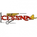 Cessna Aircraft Script Engines for Sissies. Decals, Stickers!