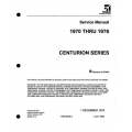 Cessna Centurion Series 1970 thru 1976 Service Manual D2004-5-13 $19.95