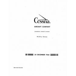 Cessna 210 Centurion 1969 Service Manual 1968 $19.95