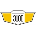 Cessna 310i Aircraft Decal/Sticker 2 3/8''h x 5 5/8''w!