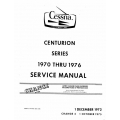 Cessna 210 Centurion Series Service Manual 1970 thru 1976 $19.95