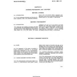 Chapter 14-15 Avionics, Photography, and Armament