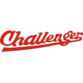Challenger Aircraft Decal 13.5''wide x 4''high! 2 Stickers!$