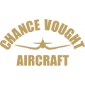 "Chance Vought Decal/Vinyl Sticker 7.52"" wide by 4.1"" high!"