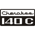 Piper Cherokee 140C Aircraft Logo,Decals!