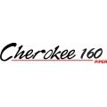Piper Cherokee 160 Aircraft Decal,Sticker 1.25''high x 14.5''wide!