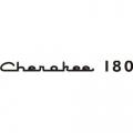 Piper Cherokee 180 Aircraft Decal,Sticker 1.25''high x 14.5''wide!