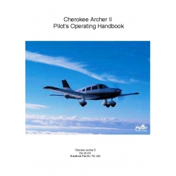 Cherokee Archer II PA-28-181 Pilot's Operating Handbook Part # 761-624 $6.95