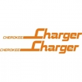 Piper Cherokee Charger Aircraft Decal,Sticker 1 7/8''high x 10 1/2''wide!