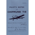 De Havilland Chipmunk T10 Pilots Notes $2.95
