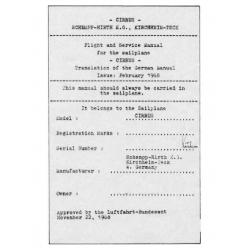 Cirrus Sailplane Flight & Service Manual