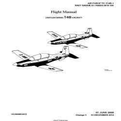 Navair A1-T6BAA-NFM-100 USAF/USN Series T-6B Aircraft Flight Manual 2009-2012 $9.95