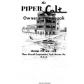 Piper Colt PA-22-108 Owner's Handbook 753-594 $9.95