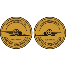 Commonwealth Aircraft Logo Decal!