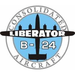 Consolidated Liberator Aircraft Logo,Decals!