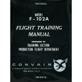 Convair F-102A Flight Training Manual   $9.95