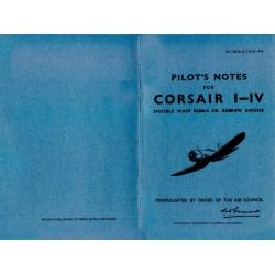Corsair F. Mks. I, II, III, IV Pilot's Notes $2.95