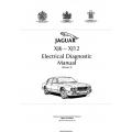 Jaguar XJ6_XJ12 (X300) Electrical Diagnostic Manual 1994 Cover 3 JJM1004 12/50