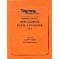 Triumph T20SM T20SH Tiger Cub Sports Model Replacement Parts Catalogue No.1