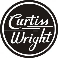 Curtiss Wright Logo Aircraft Decals