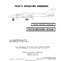 Cessna Model 310R Pilot's Operating Handbook D1528-4-13 1976 $13.95