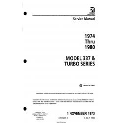 Cessna Model 337 & Turbo Series (1974 thru 1980) Service Manual D2506-8-13 $29.95
