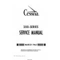 Cessna 200 Series (1965) Service Manual  D310-13 $19.95