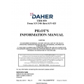 Daher TBM-850 From S/N 346 thru S/N 433 Pilot's Information Manual T00.DMNPIPYE