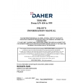 Daher TBM-850 From S/N 434 thru 999 Pilot's Information Manual T00.DMNPIPYEE1