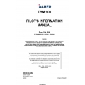 Daher TBM-900 From S/N 1050 Pilot's Information Manual T00.DMHPIPYEE1