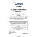 Daher TBM-900 Pilot's Information Manual DMHPIPYEEN